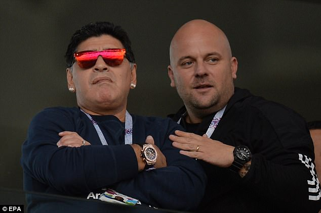 Argentina icon Diego Maradona defended the forward and pointed out his own spot kick issues