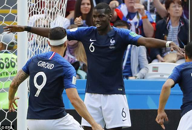 Paul Pogba called himself 'the most criticised player in the world' after France's opening win