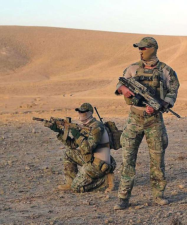 Pictured: SAS Regiment officers in Afghanistan. The classified report into 55 alleged war crimes by the SAS between 2005 and 2016 is expected to be handed up next month