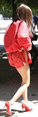 Bella Hadid's Edgy style in Paris