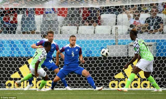 Musa took his time before firing his shot past the two covering defenders on the line to doubled Nigeria's lead in second half