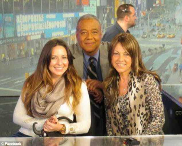 Alongside her daughter, Jessie (left) Camille (left) appeared on Good Morning America with Ron Clairborne (center) to talk about pancreatic cancer research