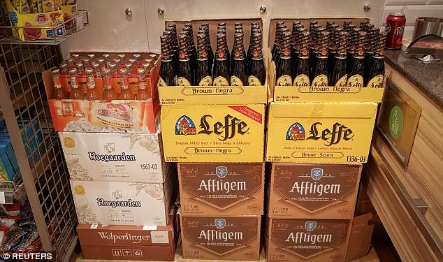 Russian supermarkets are stocking up after some bars reported shortages of beer
