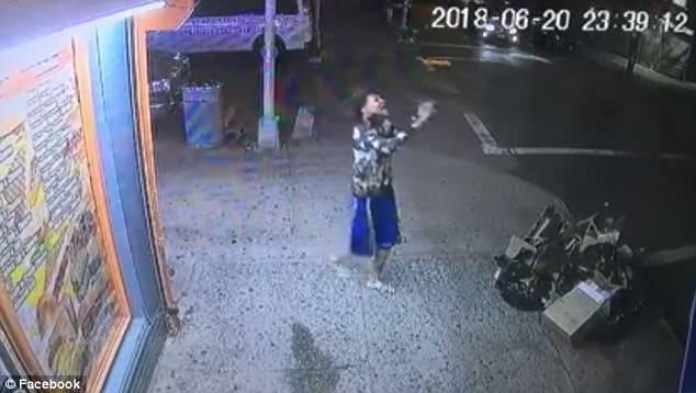 Lesandro Guzman Feliz Neck Wound
