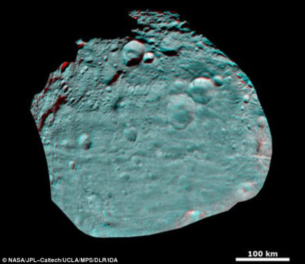 An asteroid is so close to Earth that its visible to the