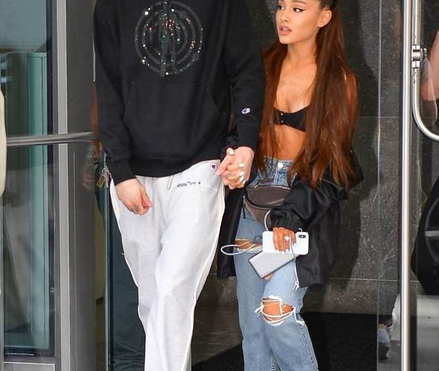 Inseparable Ariana Grande And Pete Davidson Were Spotted Together Again As They Held Hands For