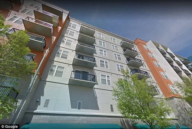 According to warrants, Este lives at The Hue Apartments on Hargett Street (shown here)
