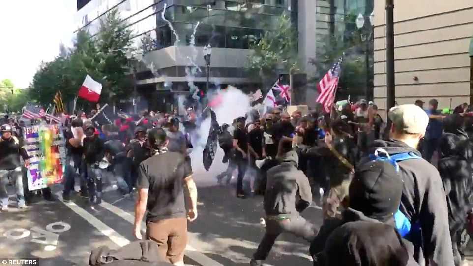 Examining the Coverage of AntiFa Vs Patriot Pride In Portland