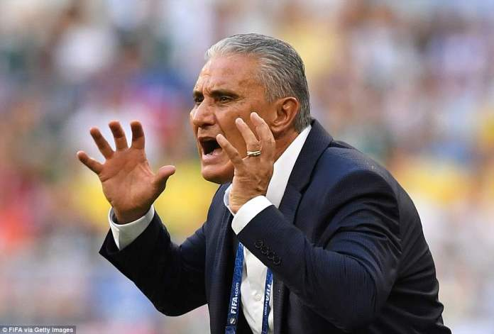 Tite's side were never forced to get into top gear but the move of the match ended up producing a goal