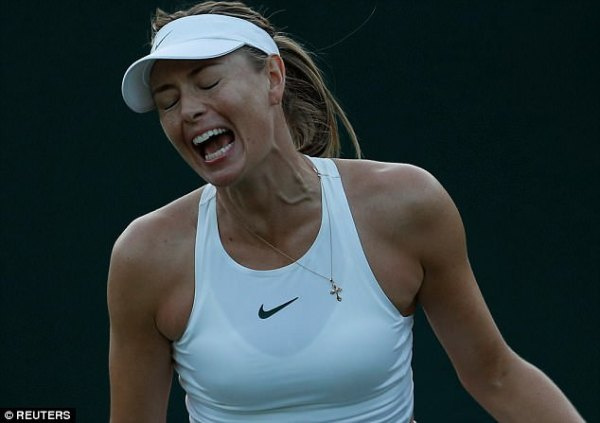 Sharapova has nightmare return to Wimbledon with first ...