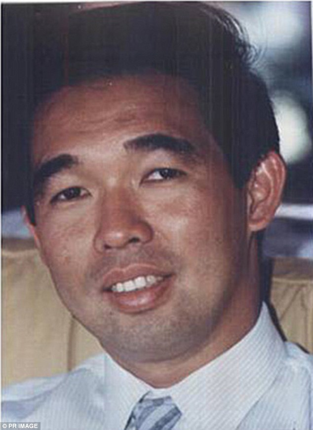 Rita Caleo's brother Dr Michael Chye, 39, (pictured) was fatally shot in the head as he drove into his Woollahra driveway in October 1989
