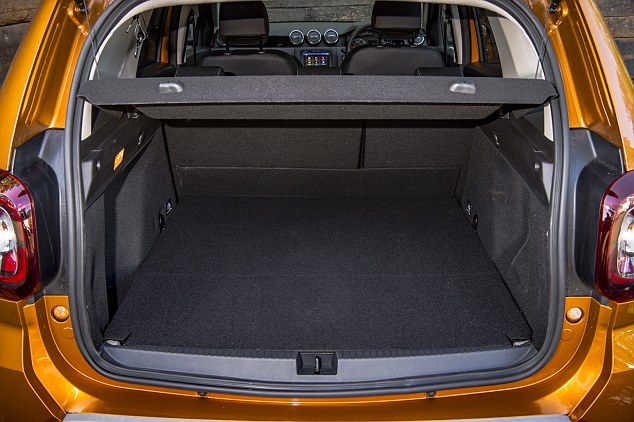 Spacious:There's plenty of space in the back and boot, and its bold looks are a step up in style from the first-generation model