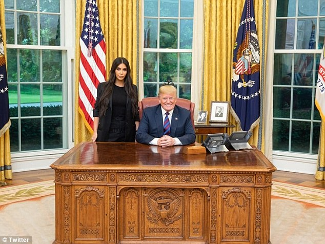 In June, Kim visited the Oval Office and successfully persuaded President Donald Trump to pardon Alice Johnson, a first-time nonviolent drug offender on a life sentence