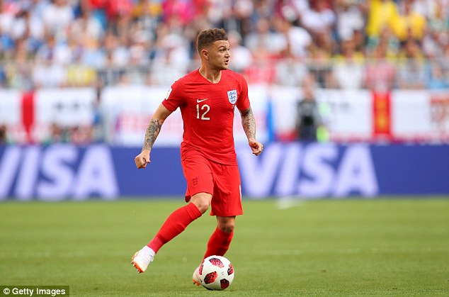 Breakout World Cup star Kieran Trippier could exploit any space that the winger leaves behind