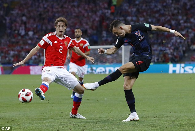 Ivan Perisic is one of Croatia's most important players and need to be handled by England