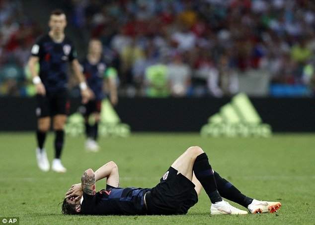 Sime Vrsaljko could miss the England game due to the injury he picked up against Russia