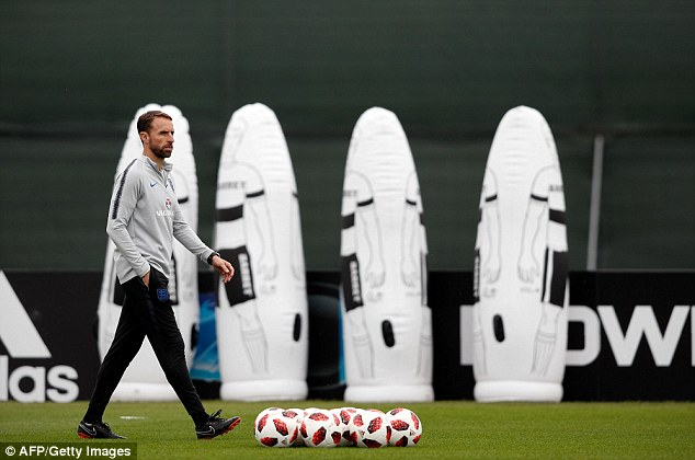 Gareth Southgate has a number of decisions to make ahead of the game against Croatia