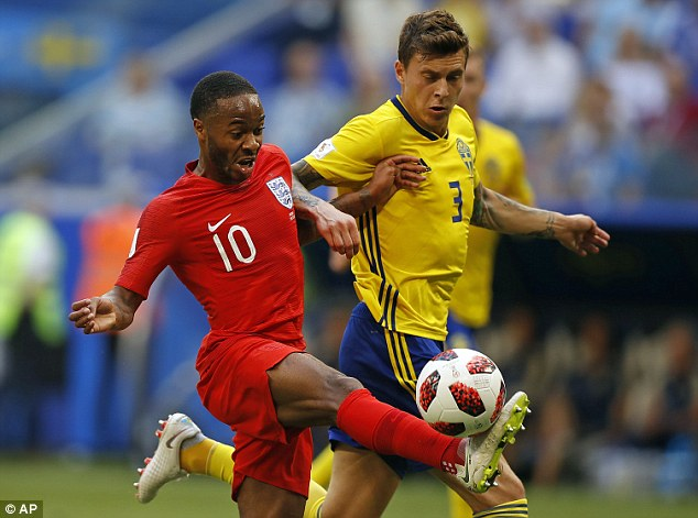 Sterling has come bottom of the BBC public ratings in all four of his England starts in Russia