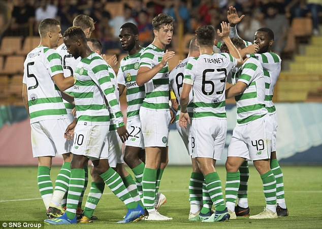 The Scottish champions need to negotiate four qualifying rounds to reach Champions League