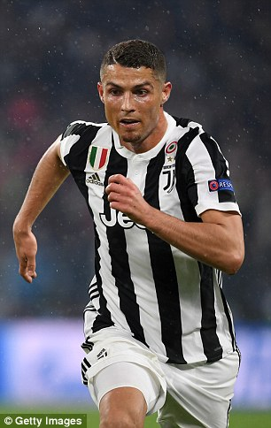 Cristiano Ronaldo will be wearing black and white stripes next season when he joins Juventus