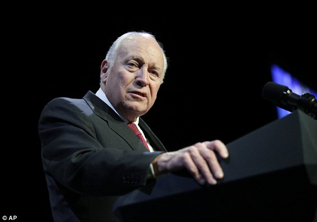 Former vice president Dick Cheney (above) is the only person who has appeared thus far in a preview for the new series