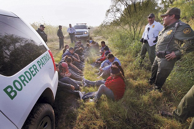The Department of Homeland Security says there have been 'many instances where human traffickers have used children to cross the border to gain illegal entry to our country'