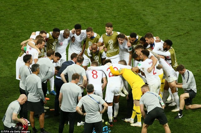 Gareth Southgate marshalls his troops as England's World Cup semi-final against Croatia heads in to extra-time