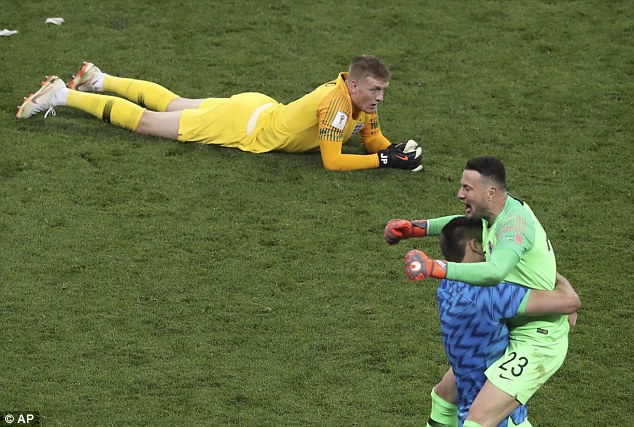 The 24-year-old shot-stopper also remained optimistic for the future following World Cup exit