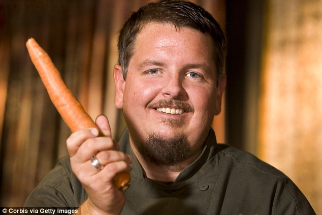 Charlie Ayers, (pictured) the first chef at Google's cafeteria, opened up about the company's drug-fueled parties and the 'harem' of 'hot girls' who he said surrounded founders Larry Page and Sergey Brin