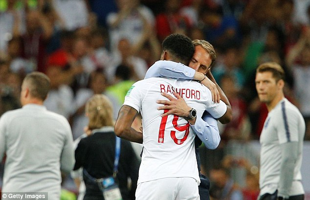 Southgate has become a well-liked figure due to his actions at the World Cup with England