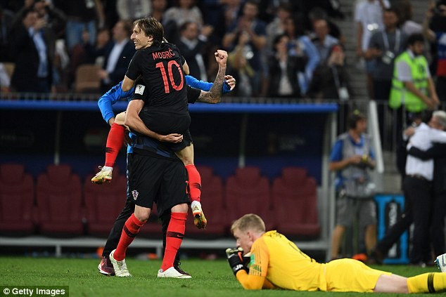 Luka Modric inspired Croatia to their 2-1 extra-time victory over England in the semi-finals