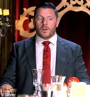 He's not happy!Huey recently said on Channel Nine's A Current Affair that cooking programs like MasterChef and MKR have devolved into 'pretentious rubbish'. Pictured: My Kitchen Rules judge Manu Feildel