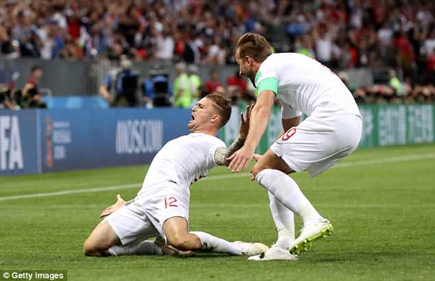 England FC (pictured Kieran Trippier celebrating his goal against Croatia last night) Croatia got to the semi finals of the World Cup in their best run at the tournament for nearly 30 years. The PM wants to throw them a reception to congratulate their success