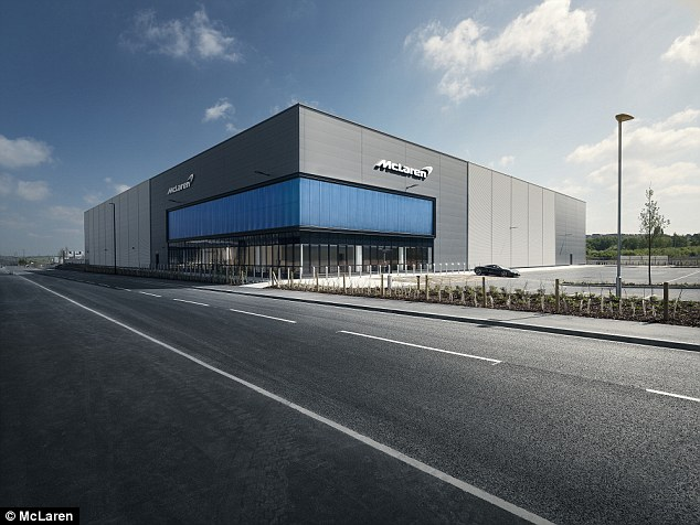 The McLaren Composite Technology Centre is due to open later this year as part of a new investment to create the lightest components on the market