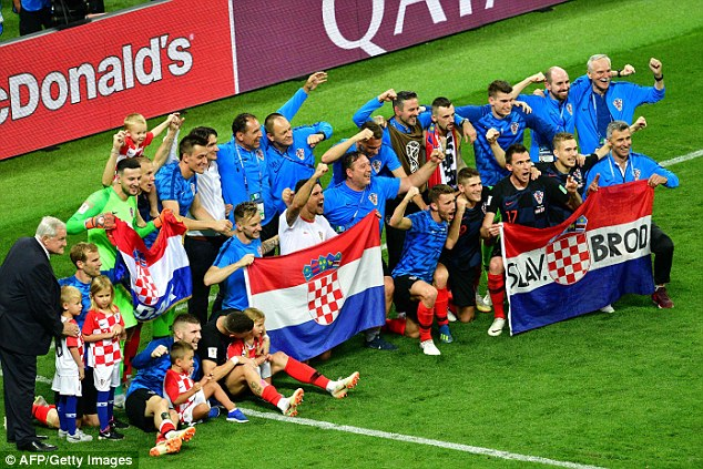 Croatia beat England 2-1 after extra time on Wednesday night to reach the World Cup final