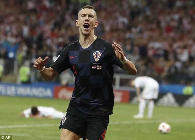 Ivan Perisic played a key role in Croatia's World Cup semi-final victory over England in Moscow