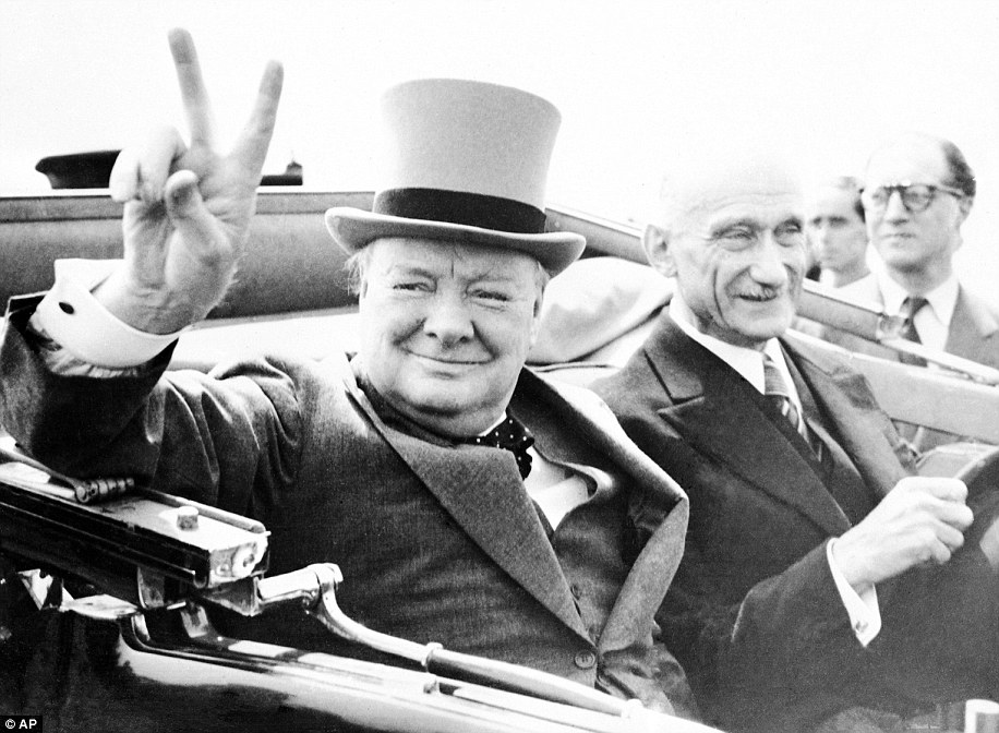 Churchill, who also married his wife, Clementine Hozier at the palace once said: 'At Blenheim I took two very important decisions; to be born and to marry. I am content with the decision I took on both occasions...'