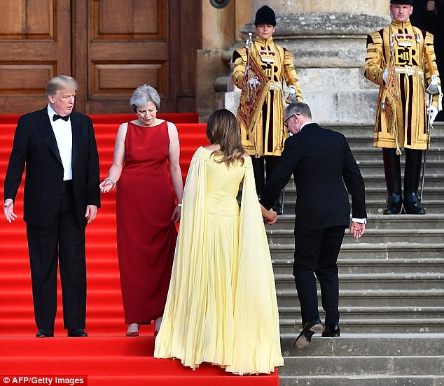 Philip has a solid but dull reputation in the City¿ managing pension funds for the Prudential and Deutsche Asset Management.Melania¿s modelling career ¿ which began with a contract with a Milan agency when she was 18 ¿ has been less lucrative but certainly not dull
