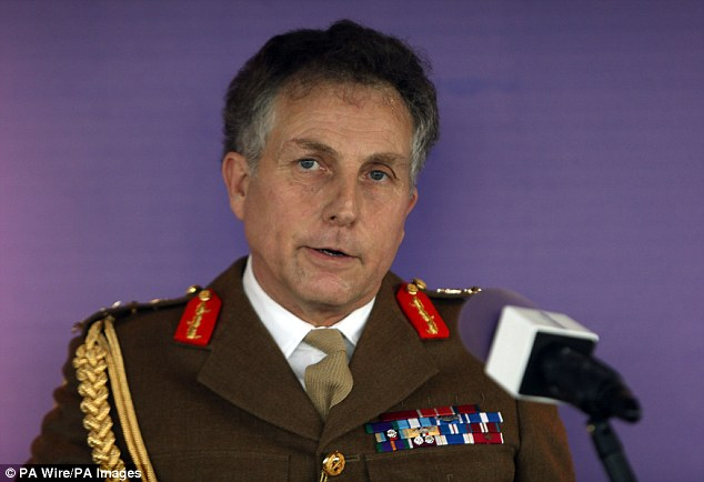 General Sir Nicholas Cartersaid the military needs to change 'fundamentally' in order to keep up with new threats