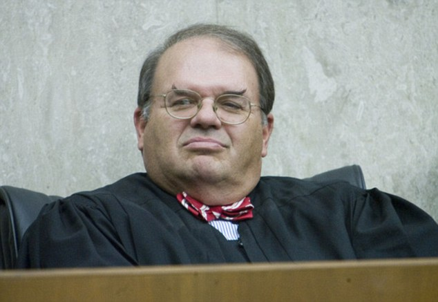 Trump's Justice Department said in a one-sentence document Thursday it is appealing the ruling last month by U.S. District Judge Richard Leon (pictured)