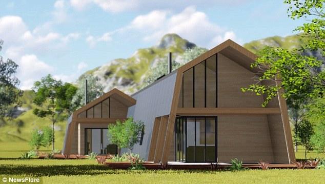 Ecokit provides easy to build, environmentally-friendly, low energy kit homes