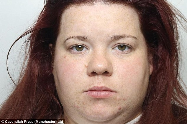 Violent: Shaunna Littlewood described herself as a monster and said she had no recollection of the incident