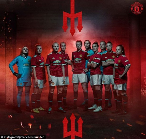 Image result for manchester united women's team 2018