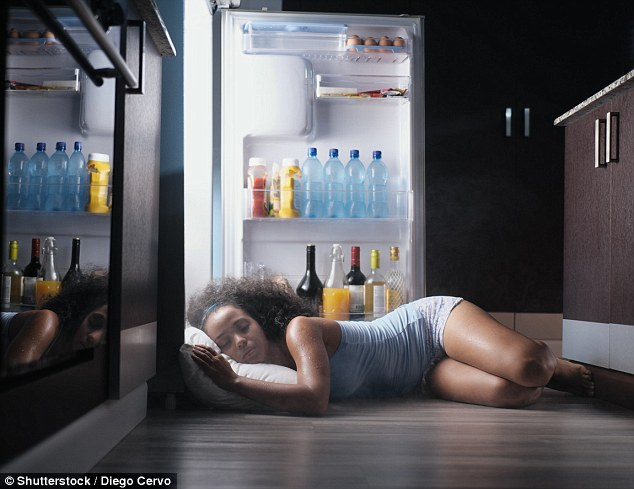 People find it difficult to sleep on hot nights because our bodies are not used to high temperatures and sleep best between 16-18°C, according to one expert