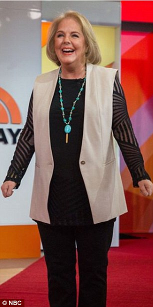Then and wow!Holly Manke, 50, from Richmond, Virginia, received an ambush makeover on the Today show on Thursday