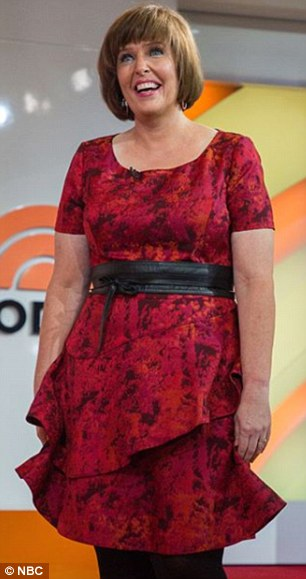 Before and after:Susan Cooper, 50, from Willows, California, also received a makeover on Thursday's show