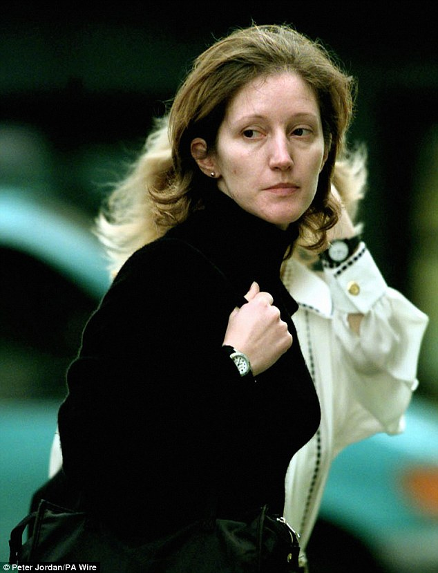 Convicted murderer and former aide to the Duchess of York, Jane Andrews, stabbed her lover to death in his sleep
