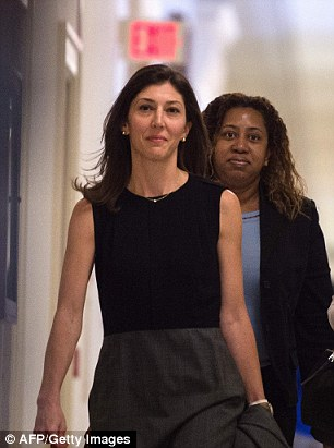 Lisa Page, 38, faced a private congressional hearing over whether anti-Trump bias impacted FBI investigations into Russian meddling or Clinton's emails