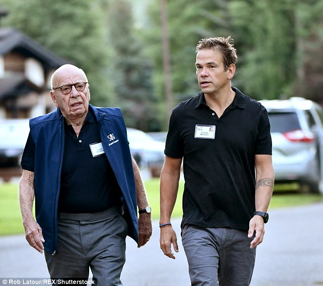 Media tycoon Rupert Murdoch is a fan of the vest, though his son Lachlan has not been seen rugging up in the official merchandise