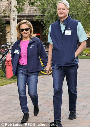 Eileen Donahoe and John Donahoe, the former CEO of eBay and chair of PayPal